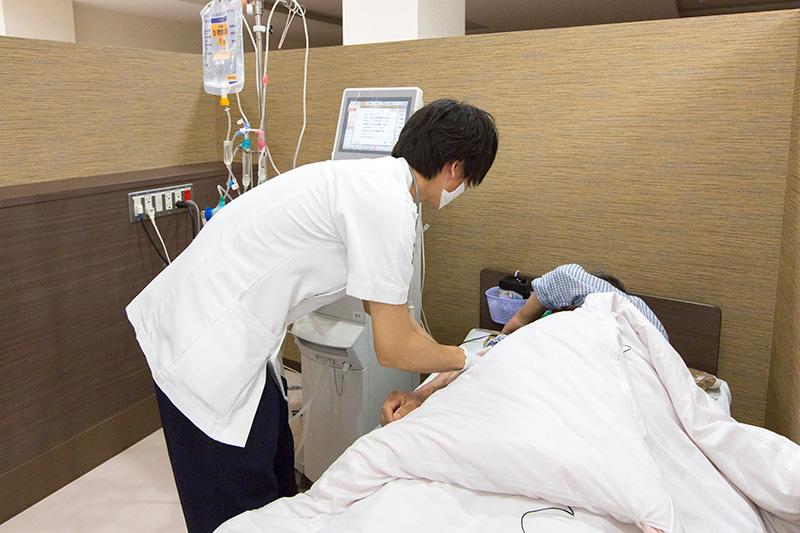 患者様とのふれあいを大切に寄り添う